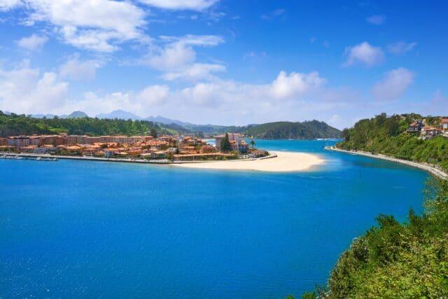 Vista de Ribadesella. Asturias