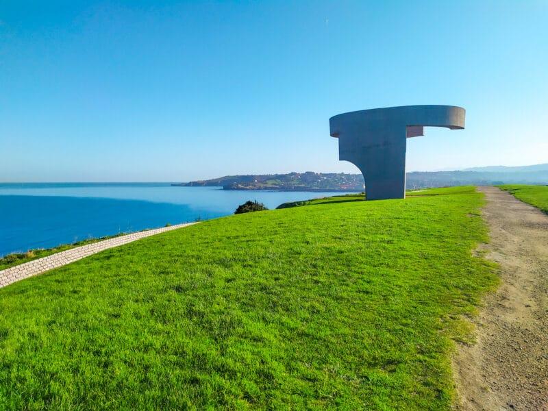 Elogio del Horizonte, símbolo y lugar imprescindible que ver en Gijón