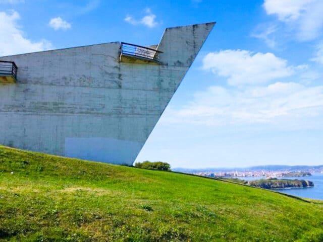 Miradore del parque de la Providencia, las mejores vistas de Gijón