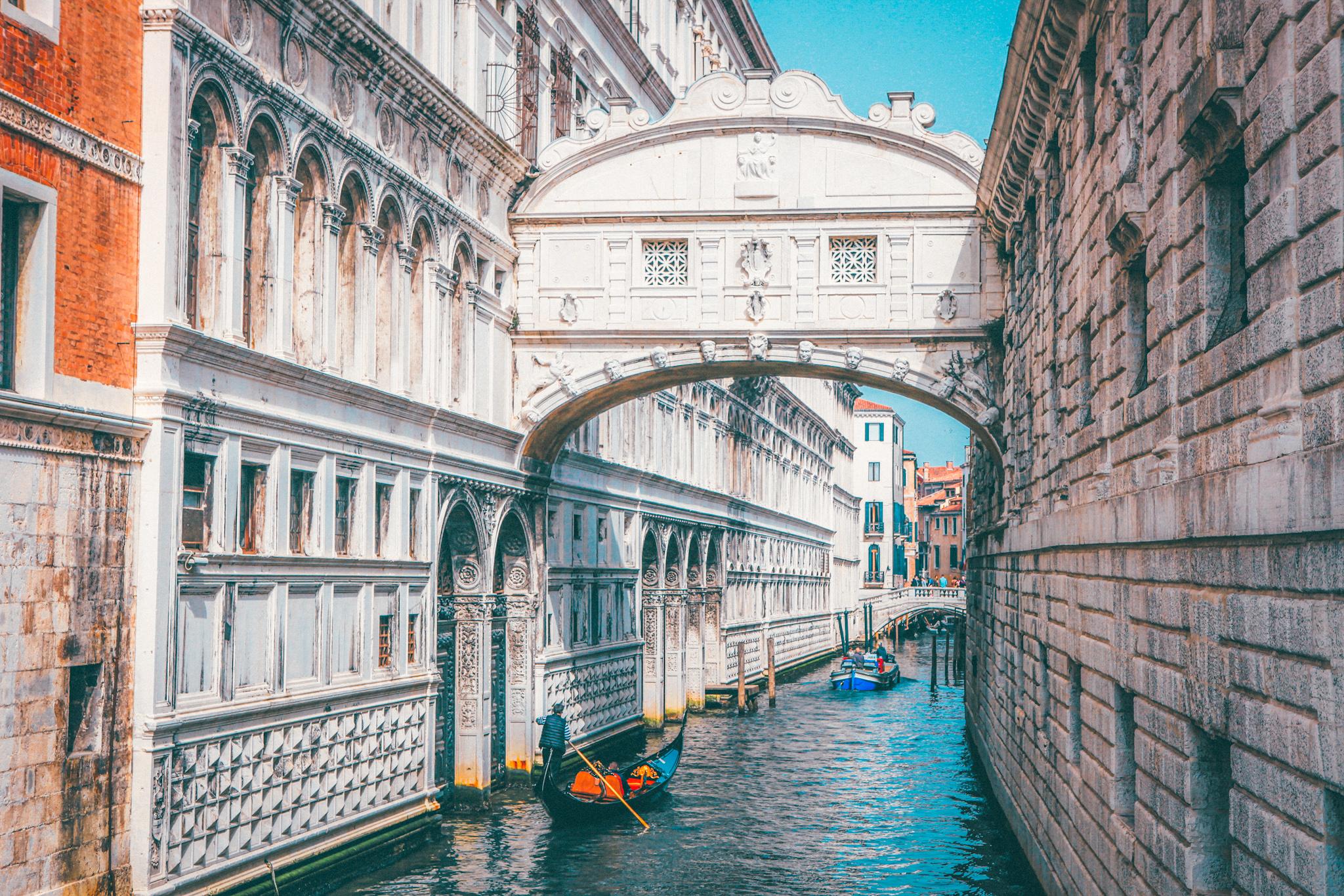 Cosas que ver y hacer en Venecia: Puente de los suspiros