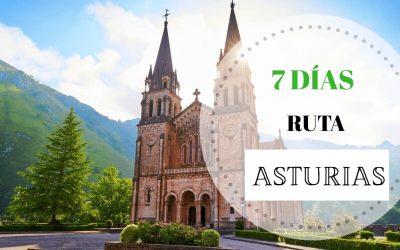 Ruta de 7 días por Asturias: GUÍA COMPLETA 2021 + MAPAS de cada día