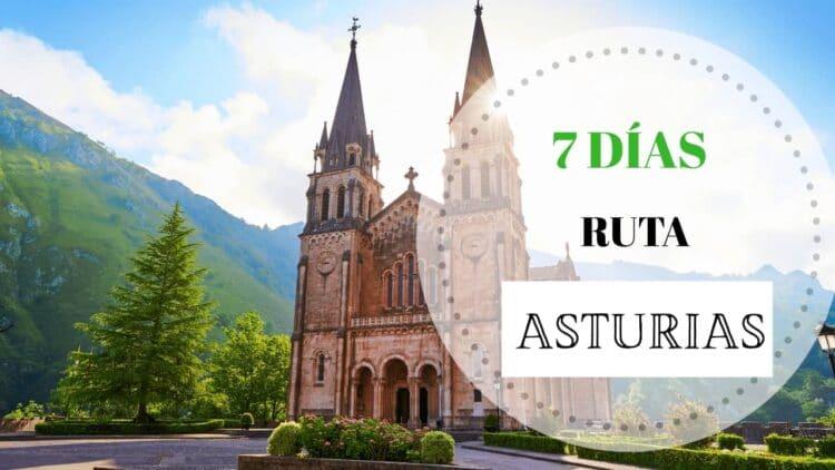 Portada Ruta en coche de 7 días por Asturias