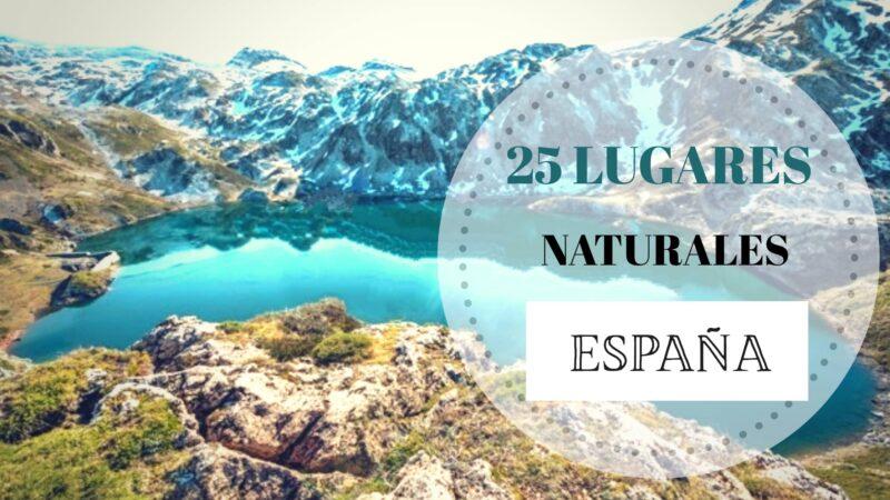 portada los mejores lugares naturales de España