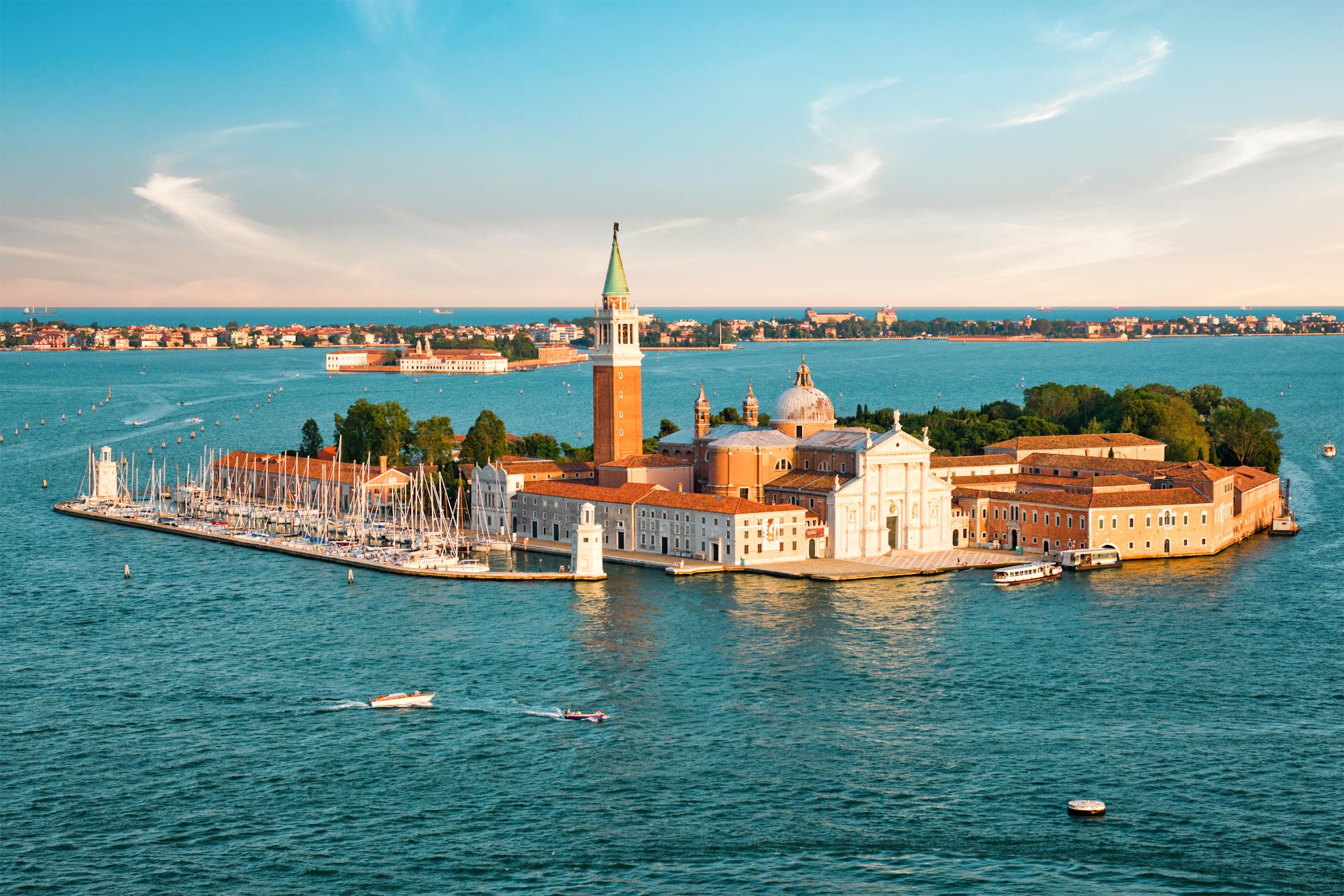 que ver en Venecia: isla de San Giorgio Maggiore