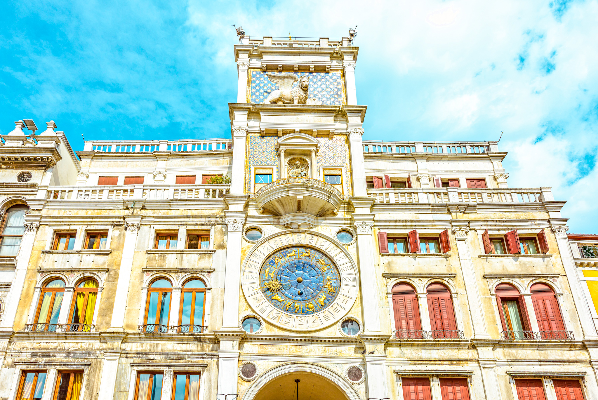 cosas que ver y hacer en Venecia: Torre dell orologio