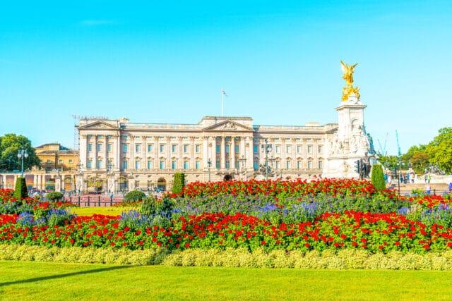 El Palacio de Buckinham, otro de los lugares imprescindibles que visitar en Londres
