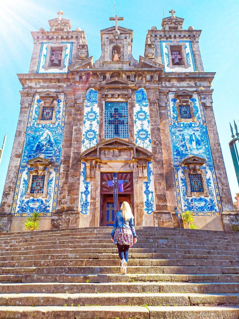 Qué ver en Oporto en 3 días : iglesia de san Ildefonso