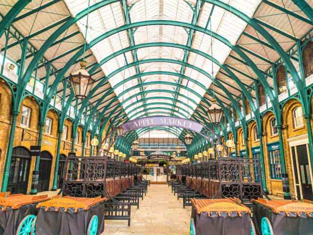 Covent Garden. Uno de los mercados que hay que ver en Londres
