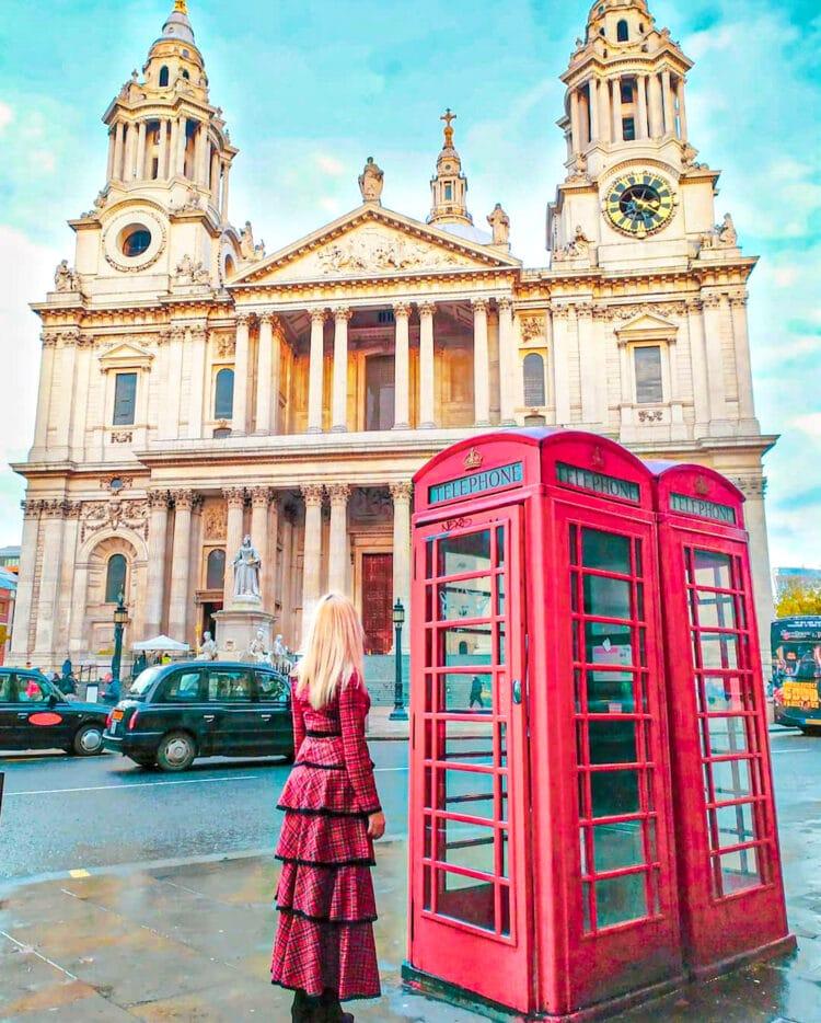 Lugares que ver en Londres: Catedral de San Pablo