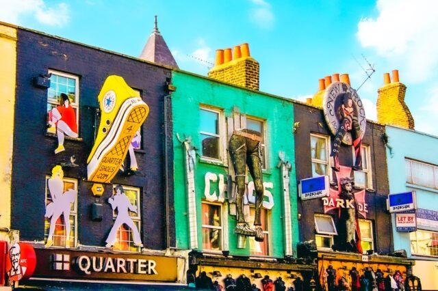 Camden Town es otro de los lugares imperdibles que ver en Londres