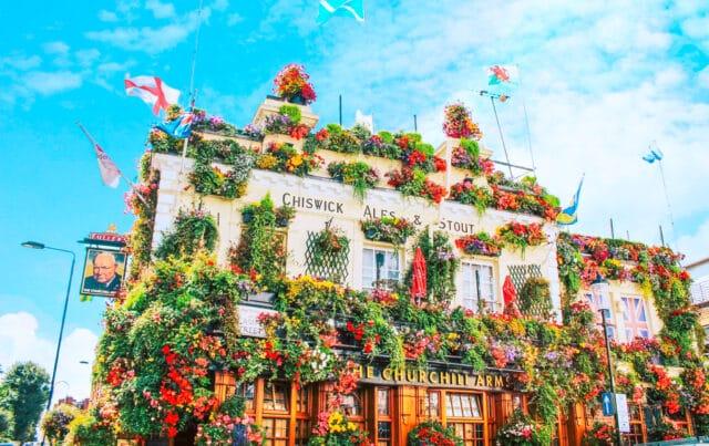 Uno de los pubs más bonitos de Londres