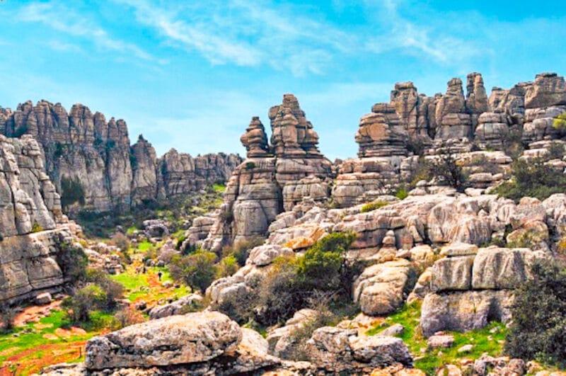 Los mejores lugares naturales de españa: el Torcal de Antequera