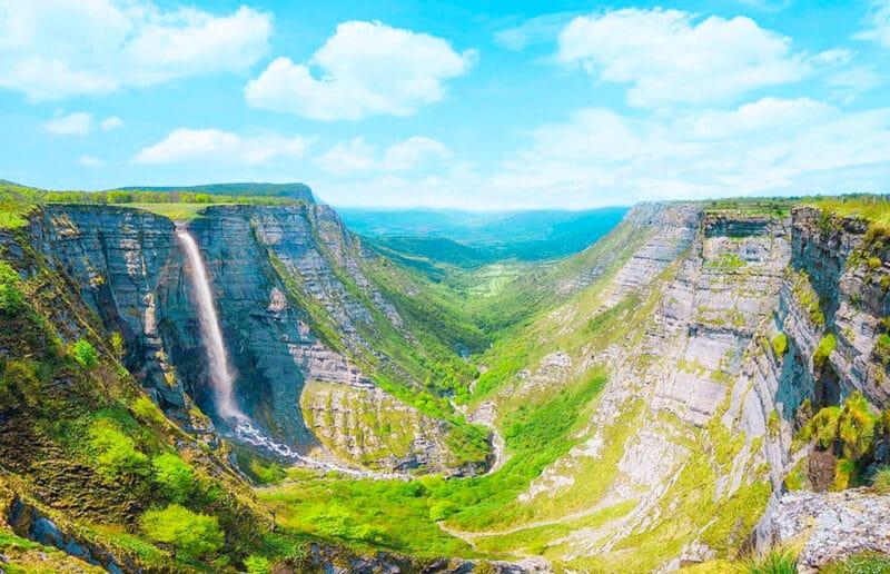 Los mejores lugares naturales de España: Salto del Nervión
