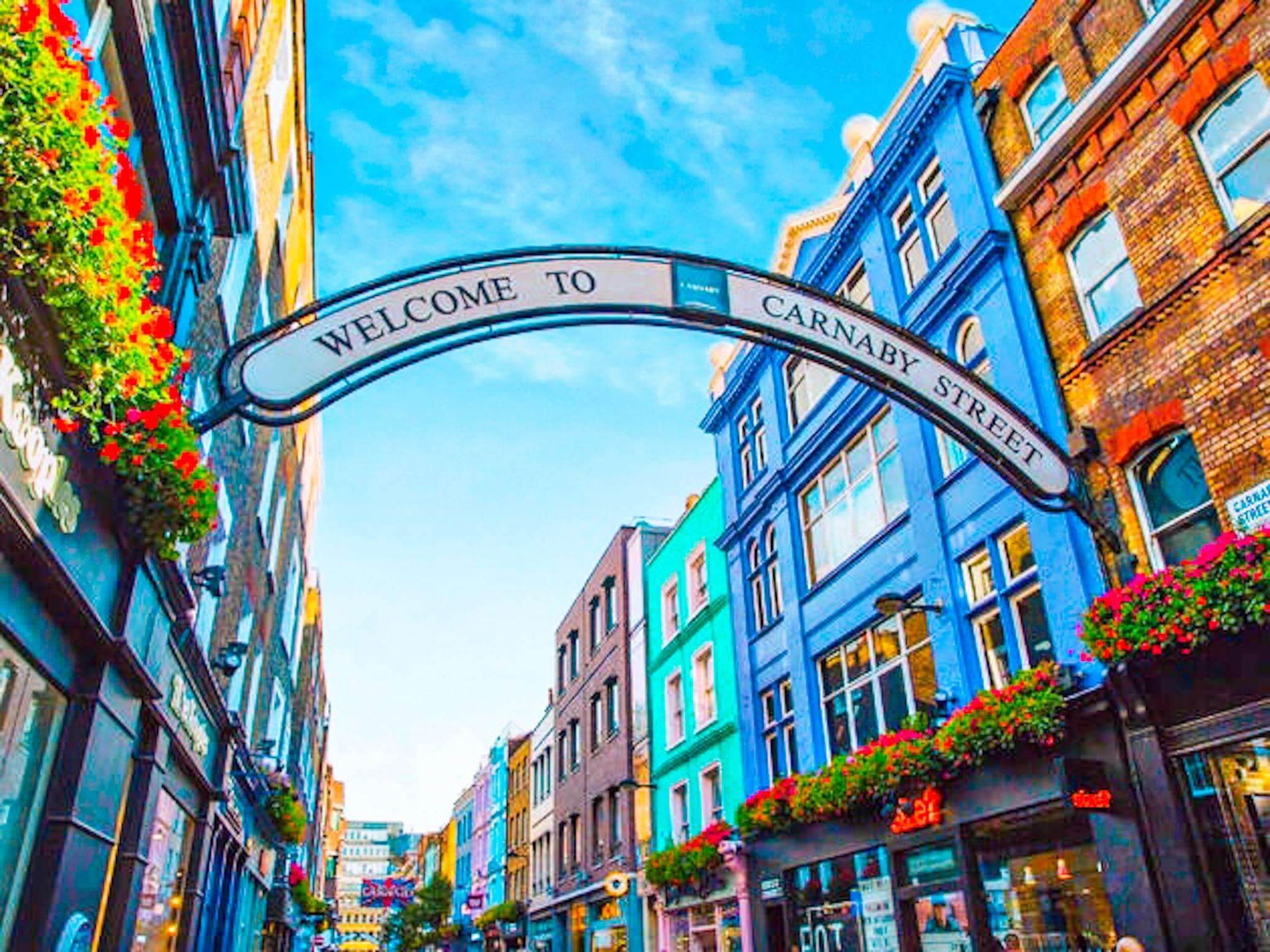 Carnaby street en el Soho Londres