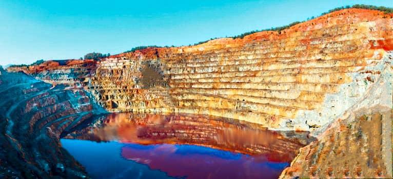 Mejores lugares naturales de España: minas de Riotinto