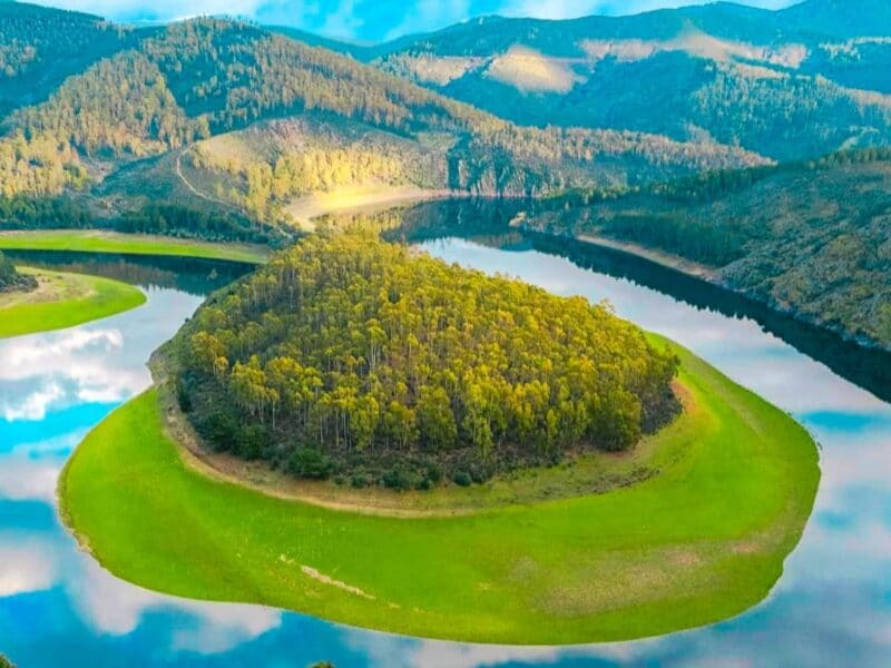 Los mejores lugares naturales de España: el Meandro del Melero