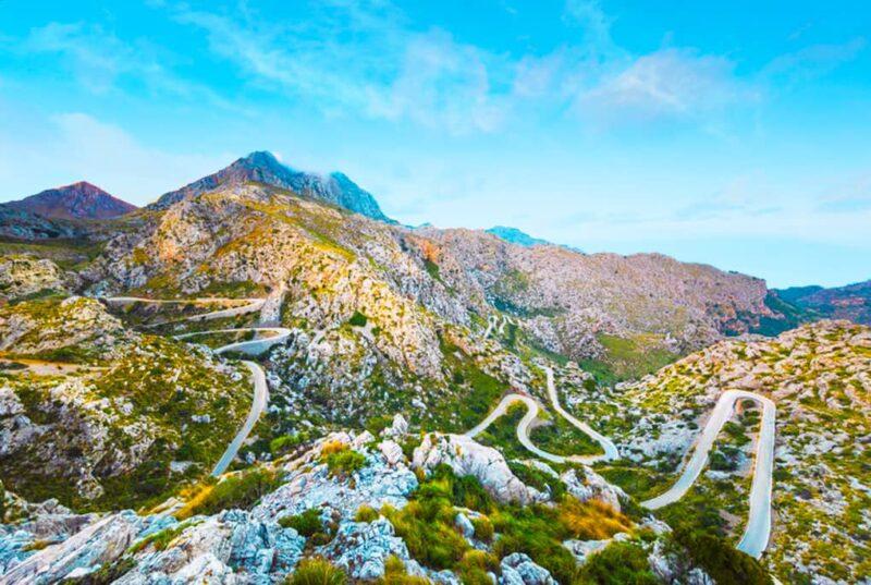 Los mejoes lugares naturales de España: La Sierra de la Tramontana