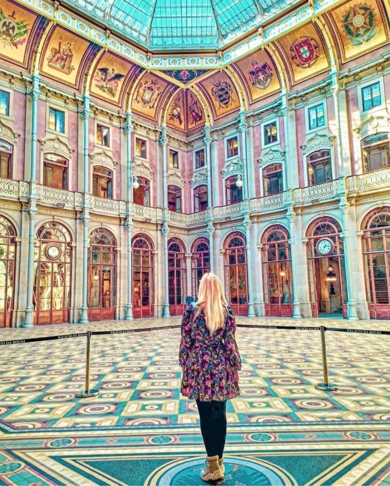 Qué ver en Oporto en 3 días: Palacio de la Bolsa