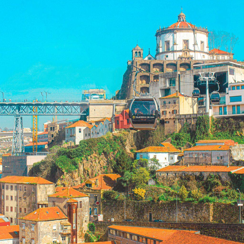 Qué ver en Oporto en 3 días: Jardim do Morro y Monasterio del Pilar