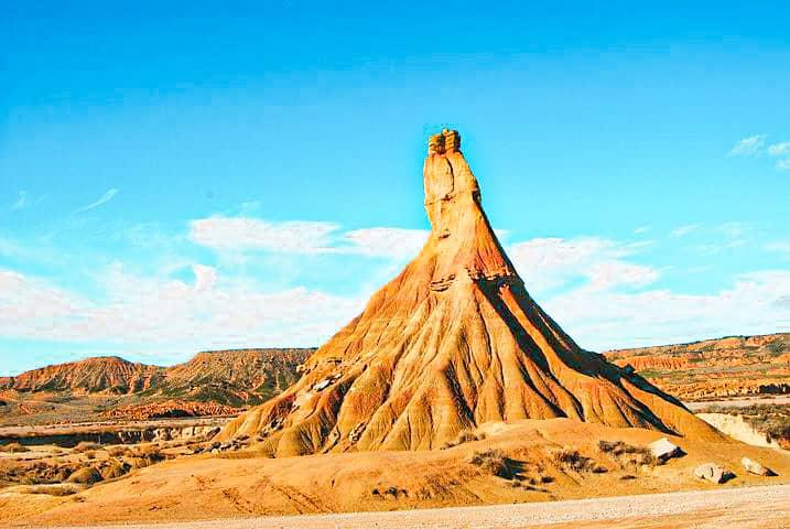 Los mejores lugares naturales de España: las Bárdenas Reales