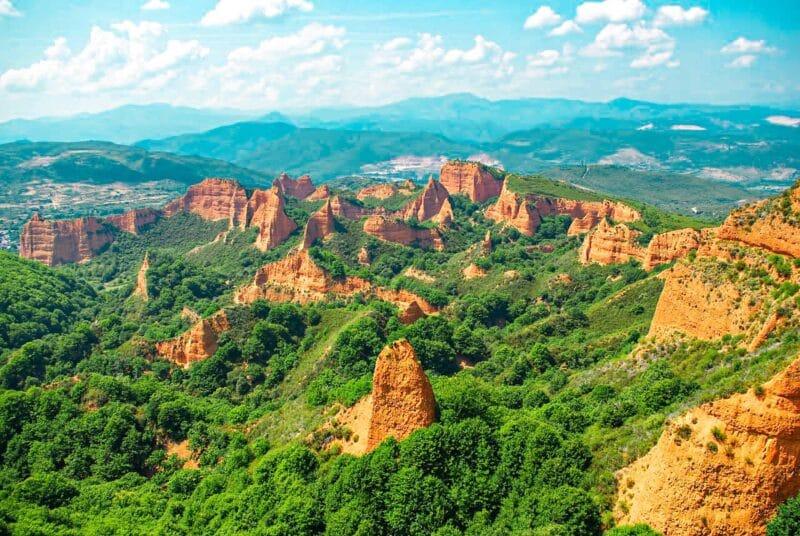 Los mejores lugares naturales de España: Las Médulas