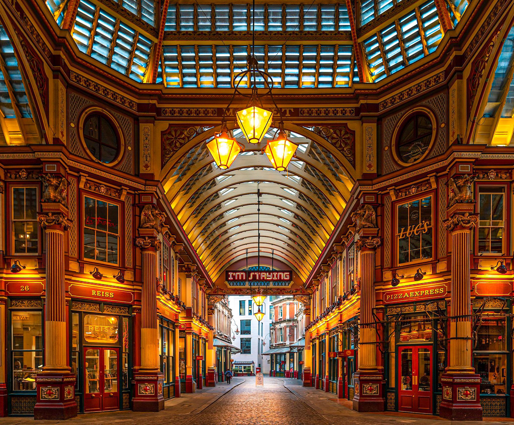 Mercado Leadenhall, escenario de Harry Potter