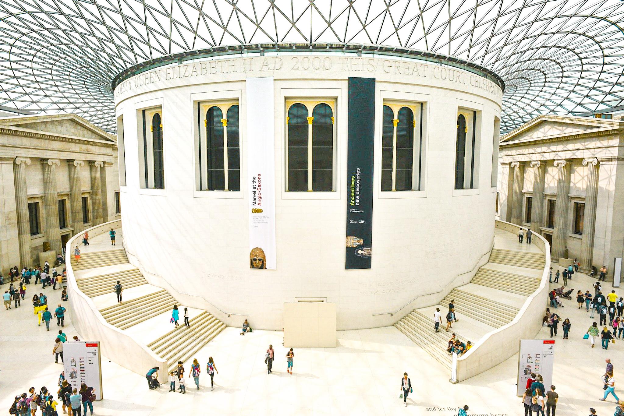 cúpula museo británico, Londres