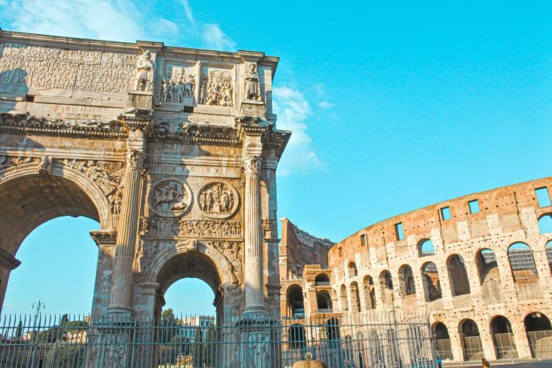 Qué ver cerca del Coliseo: el Arco de Tito