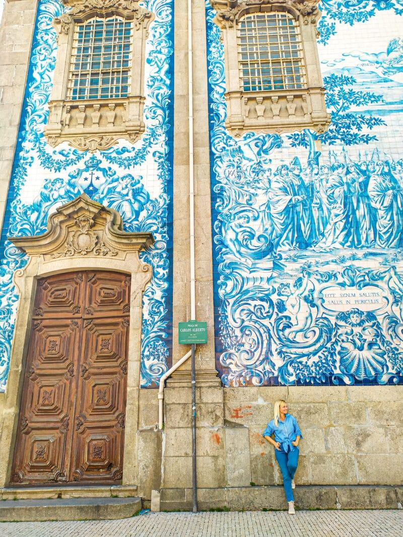 Qué ver en Oporto en 3 días: Iglesia do Carmo