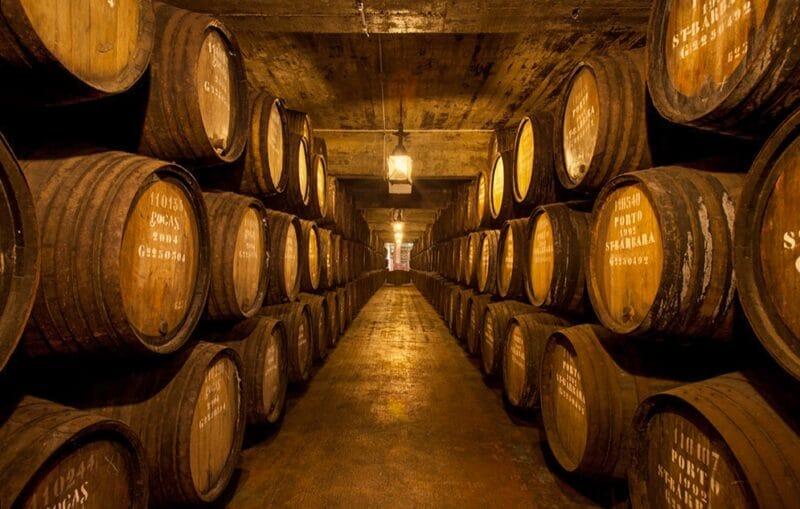 Qué ver en Oporto en 3 días: bodega de vino de Porto