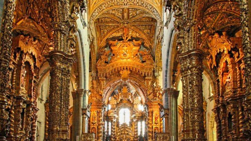 Qué ver en Oporto en 3 días: iglesia de San francisco