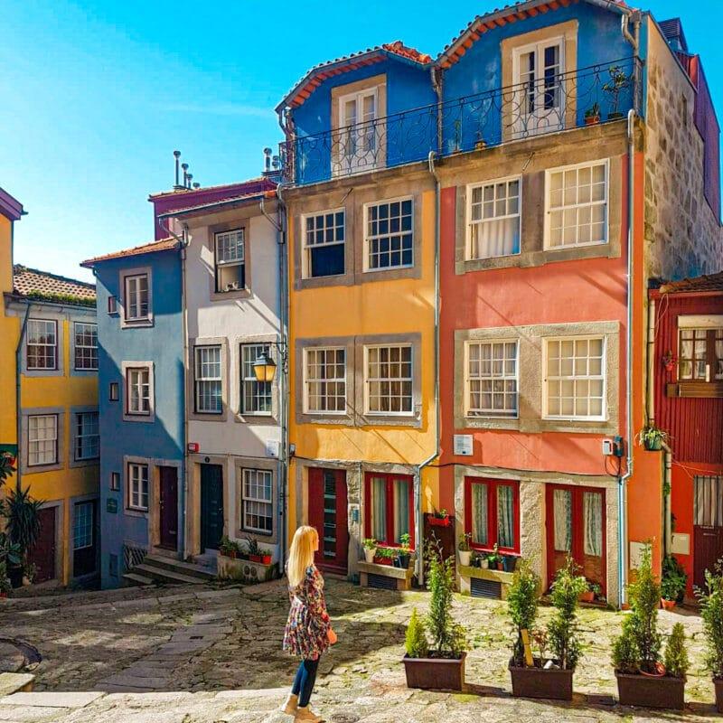 Qué ver en Oporto en 3 días: Largo da Pena Ventoso