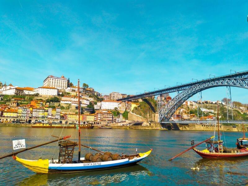 Lugares que visitar en Oporto imprescindibles : Puente Don Luis I