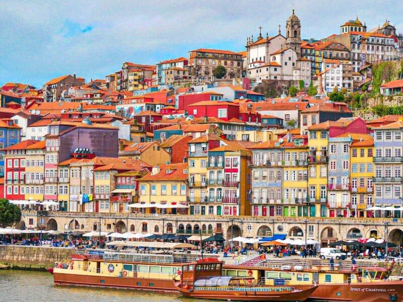 15 lugares que visitar en Oporto imprescindibles: la Ribeira