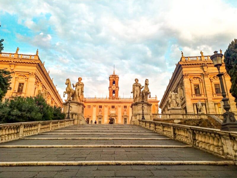 Qué ver cerca del Coliseo: Il Campidoglio