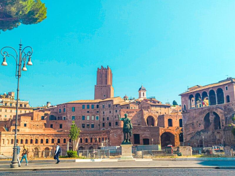 Qué ver cerca del Coliseo: Foro de Trajano
