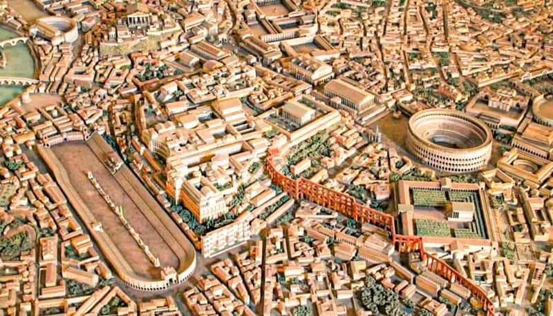 Maqueta de la Roma Imperial