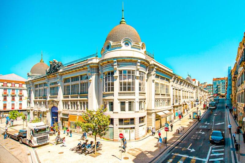 Qué ver en Oporto en 3 días: mercado de Bolhao