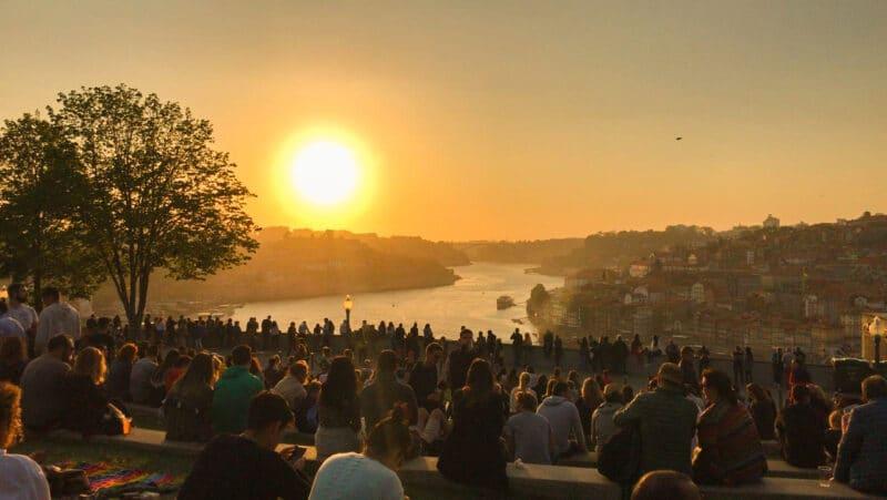 15v lugares que visitar en Oporto imprescindibles: Jardim do Morro