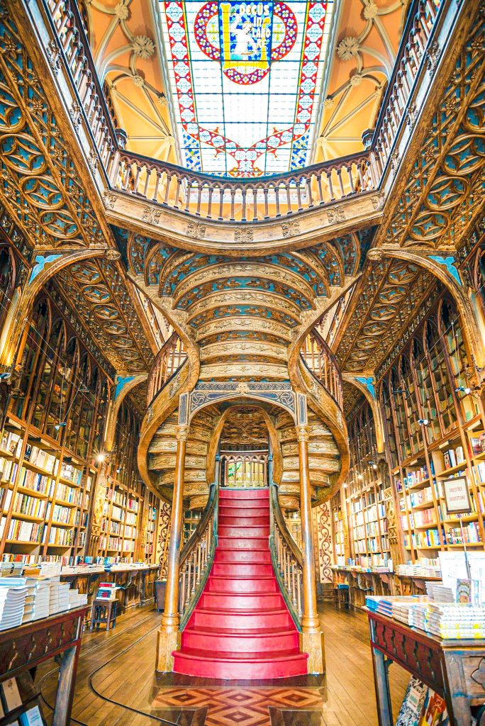 Qué ver en Oporto en 3 días: librería Lello