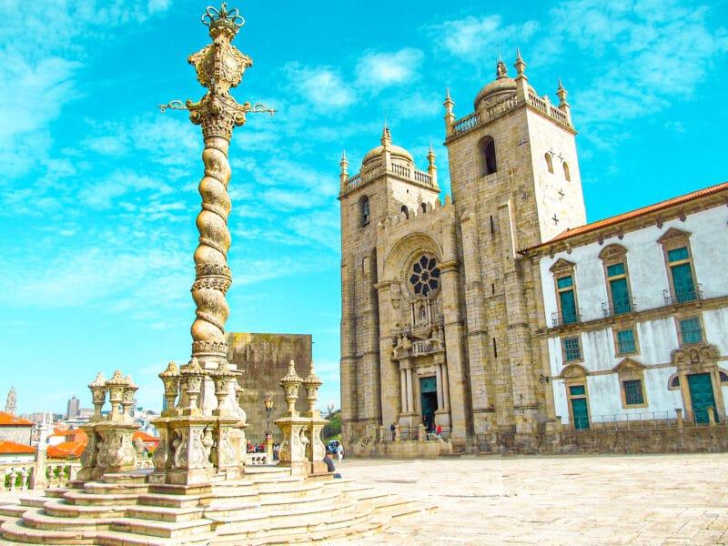 15 lugares que visitar en Oporto imprescindibles: la catedral