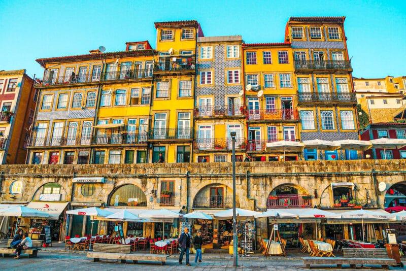 Qué ver en Oporto en 3 días: Cais da Ribeira