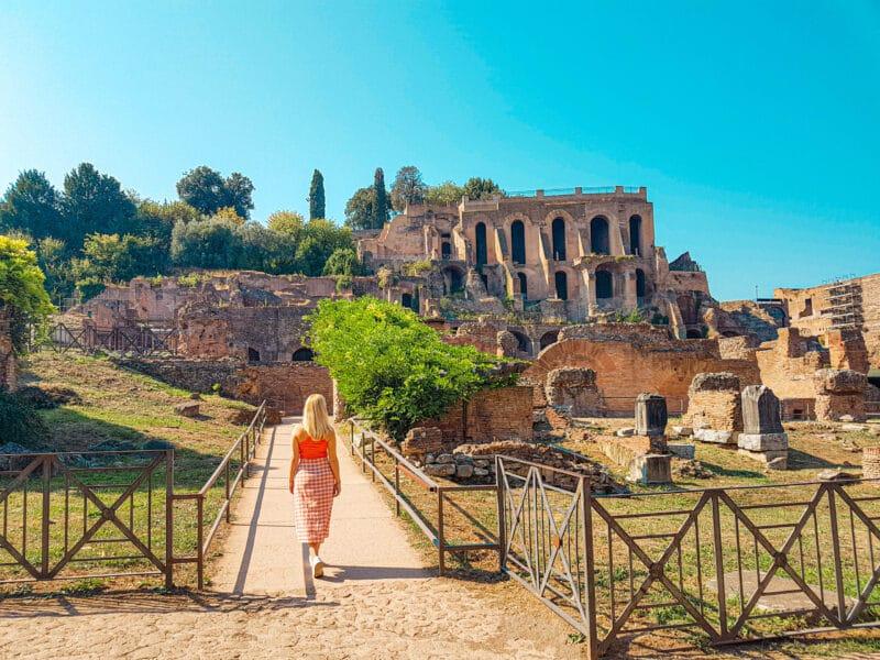 Qué ver cerca del Coliseo: colina del Palatino