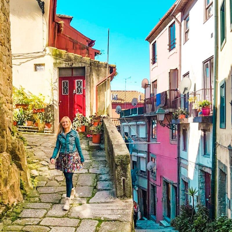 Guía completa de Oporto: calle típica