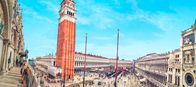 Los mejores miradores de Venecia: vista desde la Loggia dei Cavalli