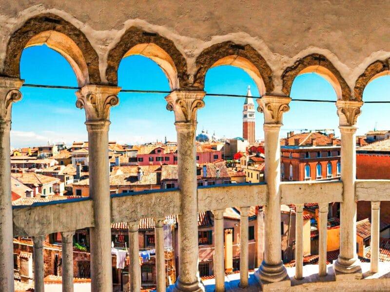 Los mejores miradores de Venecia: vistas desde la Escalera del Bovolo