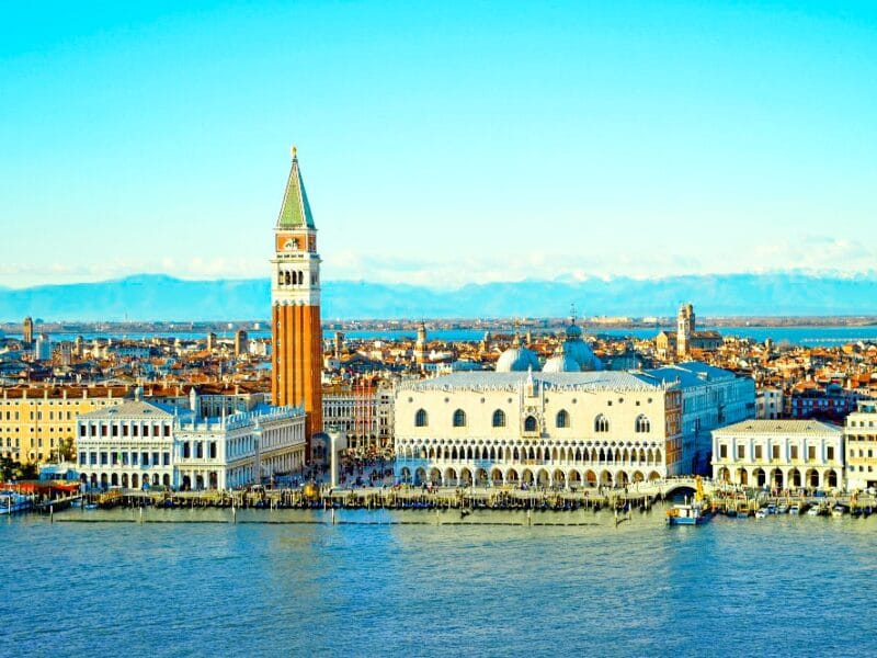 Los mejores miradores de Venecia: vistas desde el campanario de la Isla de San Giorgio maggiore
