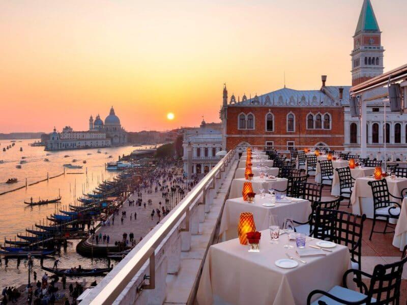 Terraza del Hotel Danieli