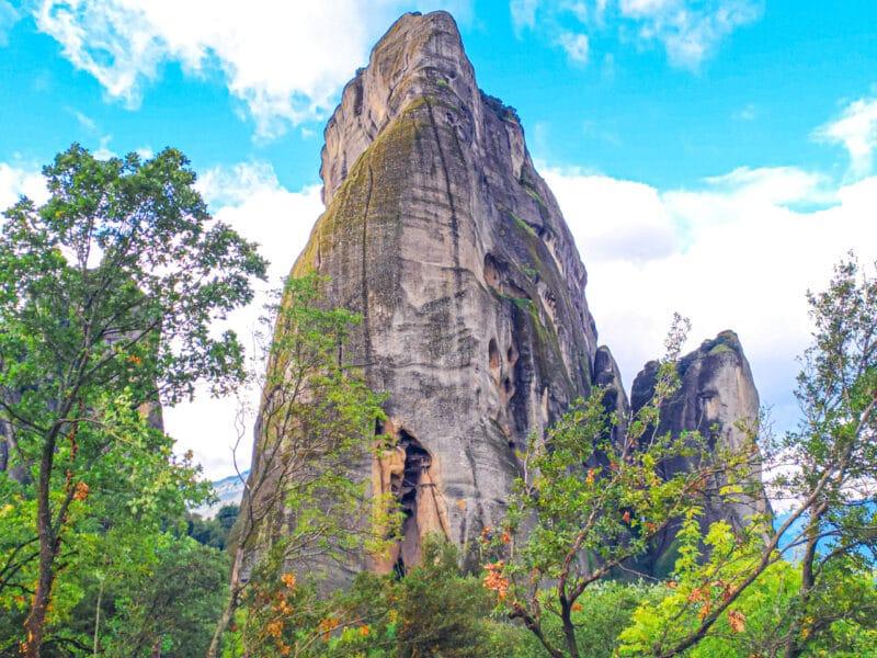Qué ver en Meteora: la cárcel de los monjes