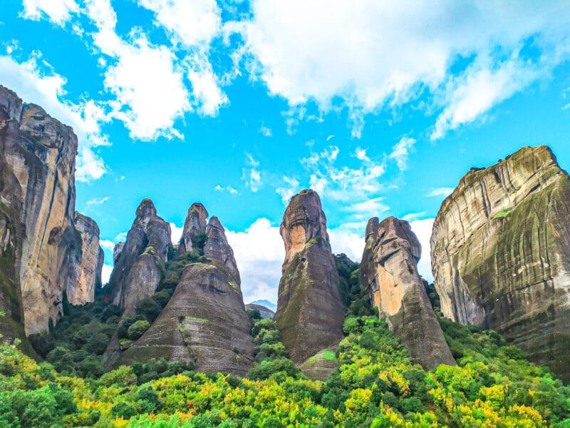 rocas de Meteora